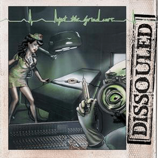 DISSOULED -  Inject The Grind-Cure CD