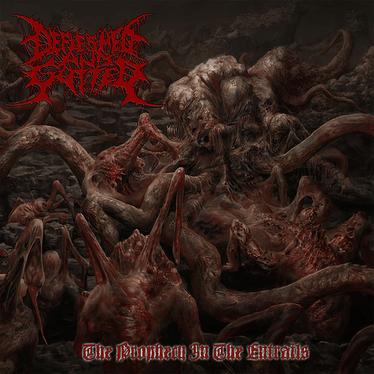 DEFLESHED AND GUTTED - The Prophecy In The Entrails CD