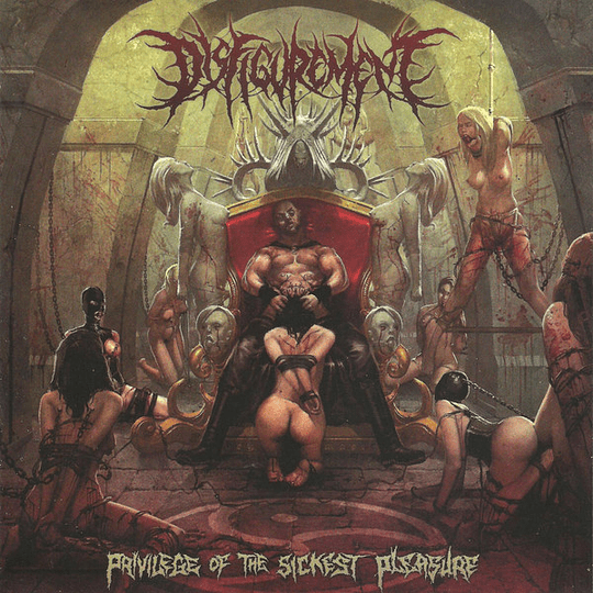 DISFIGUREMENT - Privilege Of The Sickest Pleasure CD