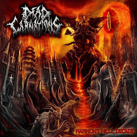 DEAD CARNATIONS - Harmony Hell Decade CD