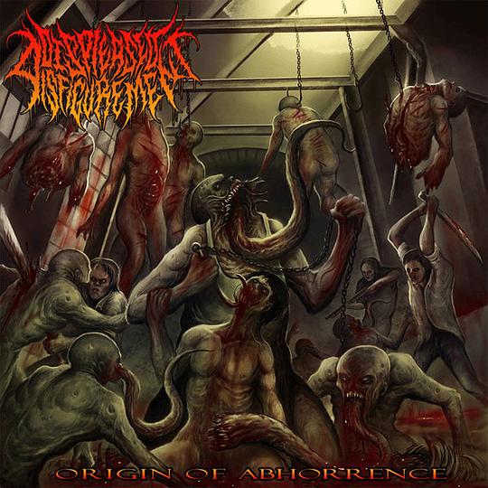 DISPLEASED DISFIGUREMENT -  Origin Of Abhorrence CD