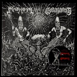MAGNANIMUS / GODAGAINST - Opening the Cataclysm Portal to the Gods SPLIT VINYL 7'