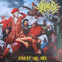 ABRASIVE / EASTFRISIAN TERROR -  Fruit Of Sin / Upstalsboom SPLIT VINYL 7'