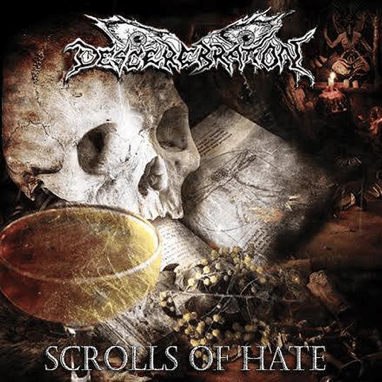 DESCEREBRATION - Scrolls Of Hate CD
