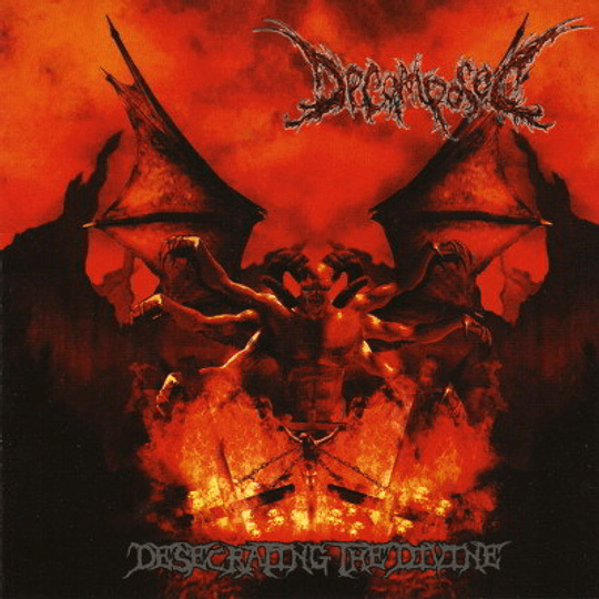 DECOMPOSED - Desecrating The Divine CD