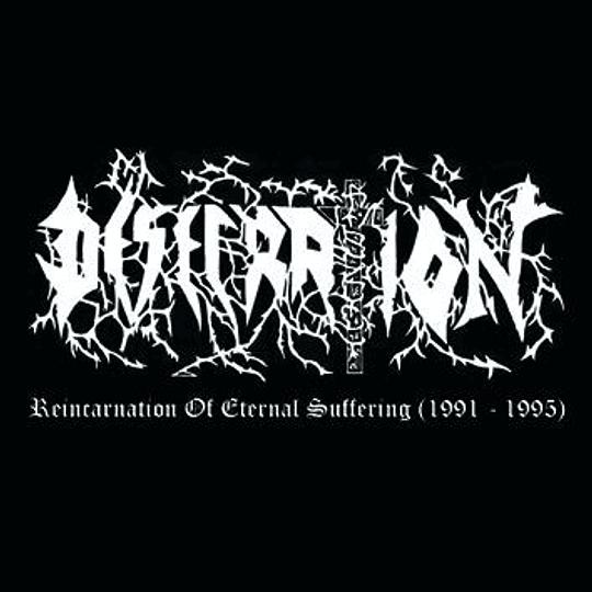 DESECRATION - Reincarnation Of Eternal Suffering (1991 - 1995) CD