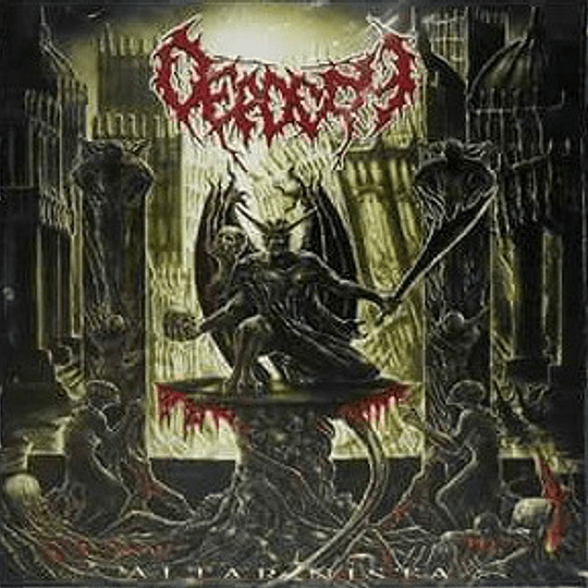 DEAD CRY - Altar Nista CD