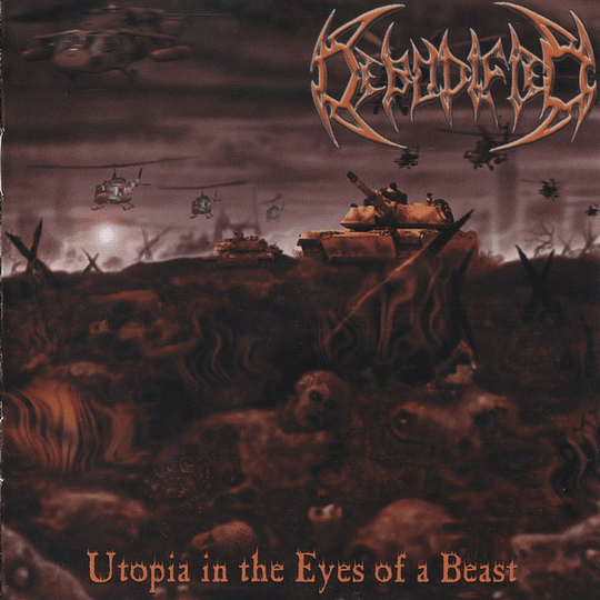 DEBODIFIED - Utopia In The Eyes Of A Beast CD