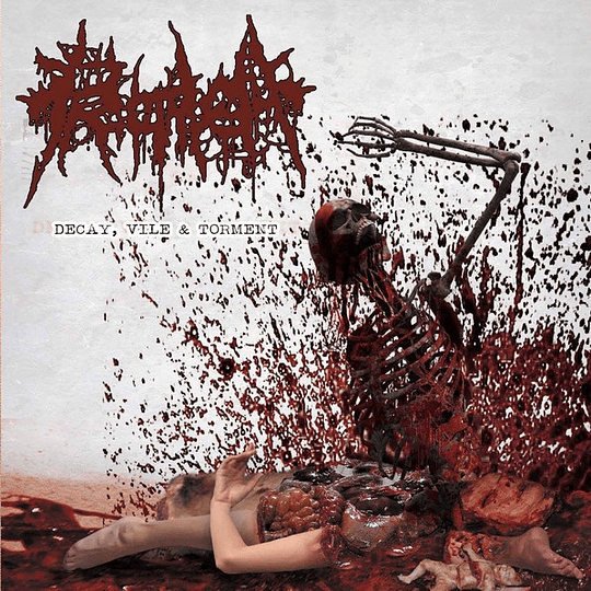 PROCTALGIA / DECOMPOSING SERENITY -  Decay, Vile & TormeNt/Decaying Priest Under My Bed SPLIT CD