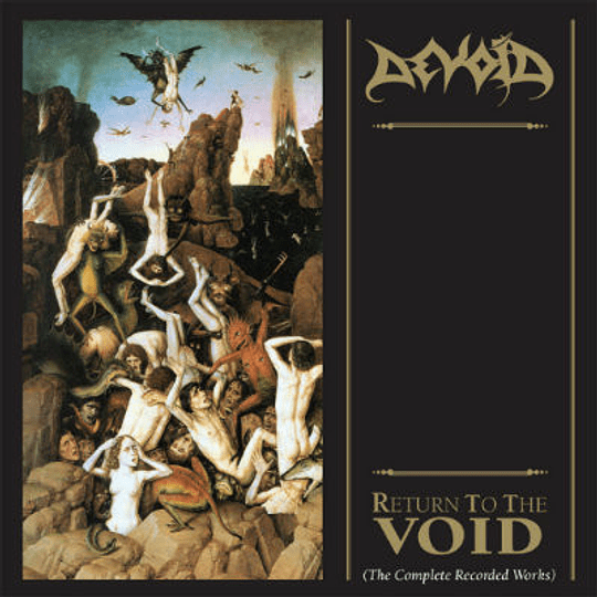 DEVOID - Return To The Void (The Complete Recorded Works) CD