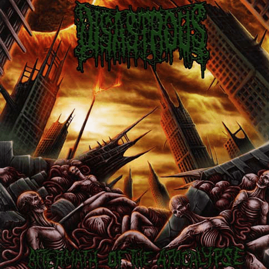 DISASTROUS -  Aftermath Of The Apocalypse CD