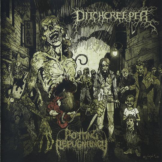 DITCHCREEPER - Rotting Repugnancy CD