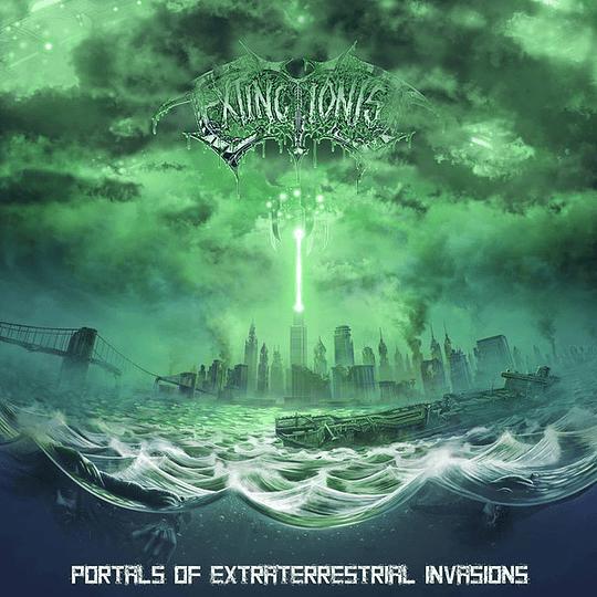 EXTINCTIONIST  -  Portals Of Extraterrestrial Invasions CD