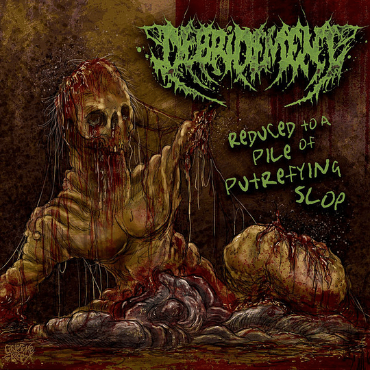 DEBRIDEMENT - Reduced To A Pile Of Putrefying Slop CD