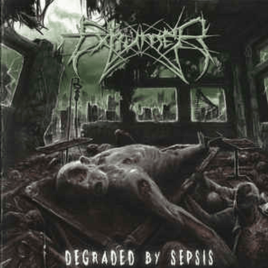 EXHUMER - Degraded By Sepsis CD
