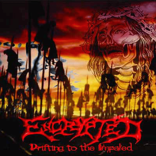 ENCRYPTED - Drifting To The Impaled CD