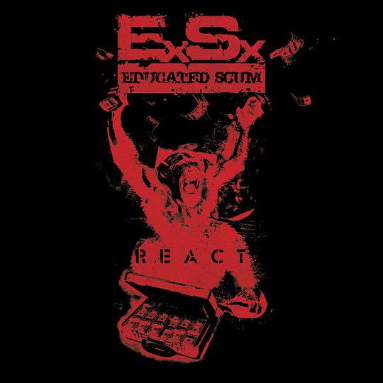 EDUCATED SCUM - The Spew Records  CD