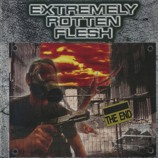 EXTREMELY ROTTEN FLESH - The End CD