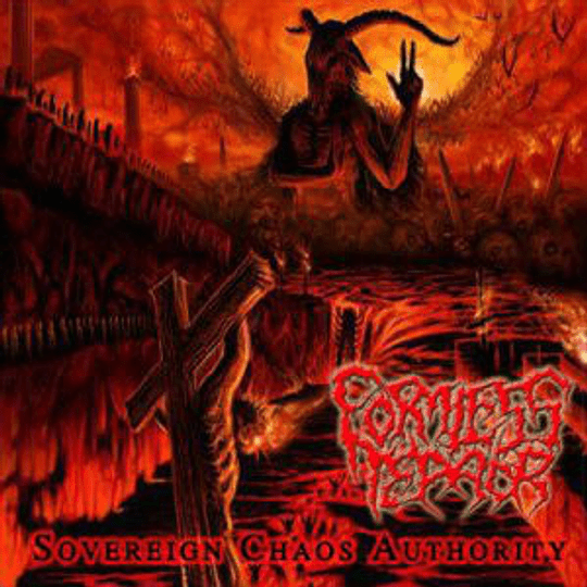 FORMLESS TERROR - Sovereign Chaos Authority CD