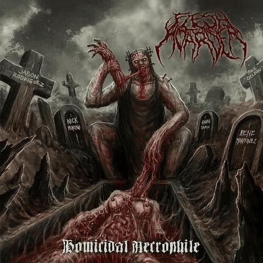 FLESH HOARDER - Homicidal Necrophile CD