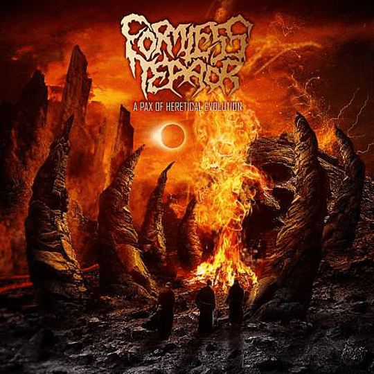 FORMLESS TERROR - A Pax Of Heretical Evolution CD