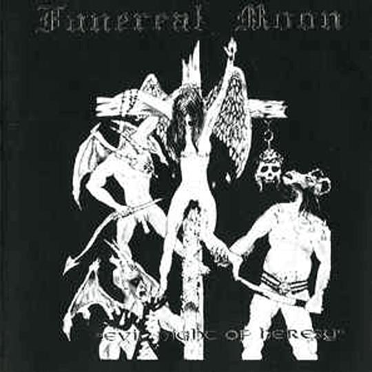 FUNEREAL MOON -  Evil Night Of Heresy CD