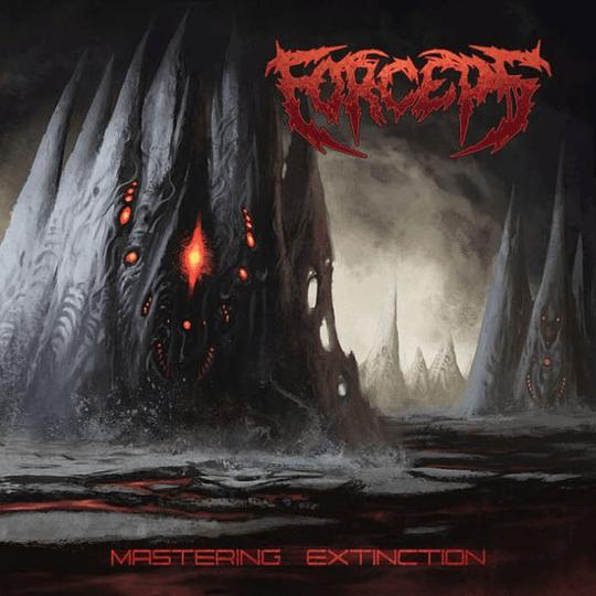 FORCEPS - Mastering Extinction CD