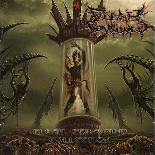 FLESH CONSUMED -  Collection CD