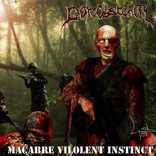 GOREOBSCENITY -  Macabre Violent Instinct CD