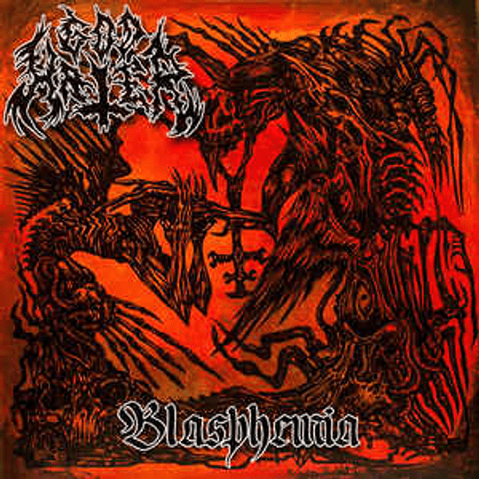 GODHATER - Blasphemia CD