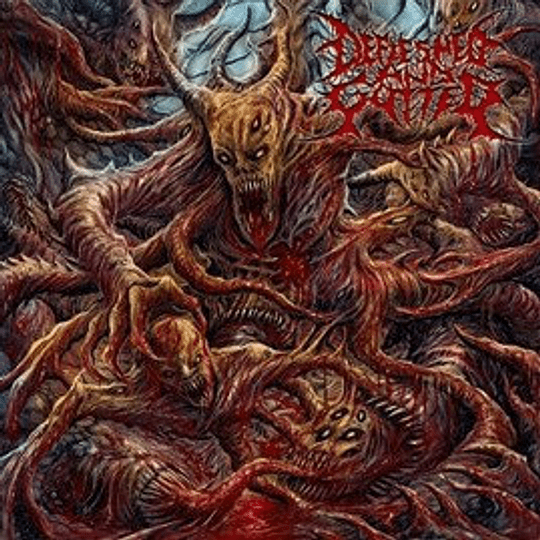 DEFLESHED AND GUTTED - S/t CD