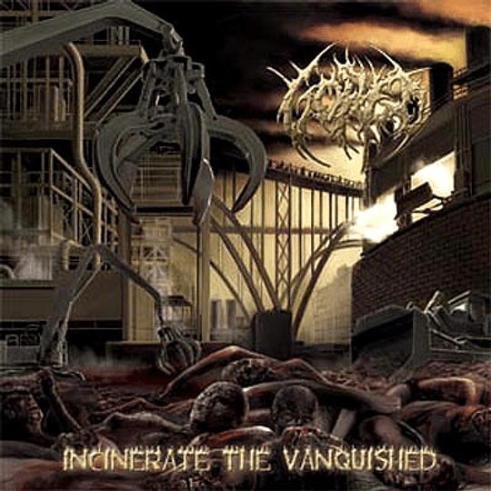 GORED - Incinerate The Vanquished CD