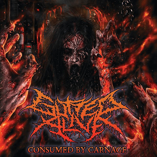 GUTTED ALIVE - Consumed by Carnage CD