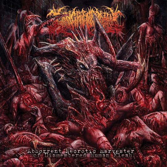 GANGRENECTOMY - Abhorrent Necrotic Harvester Of Dismembered Human Flesh CD