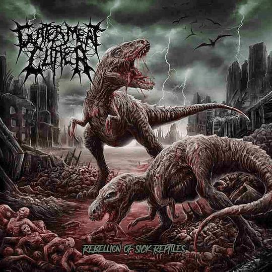 GUTTER MEAT CLITTER - Rebellion Of Sick Reptiles CD
