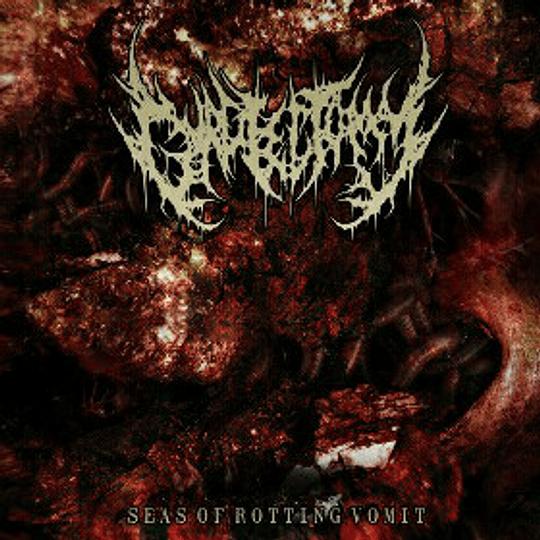GURGLECTOMY - Seas Of Rotting Vomit CD