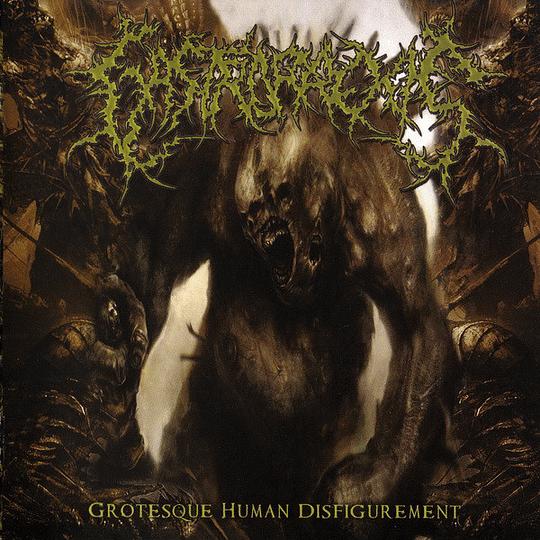 GASTRORREXIS – Grotesque Human Disfigurement CD