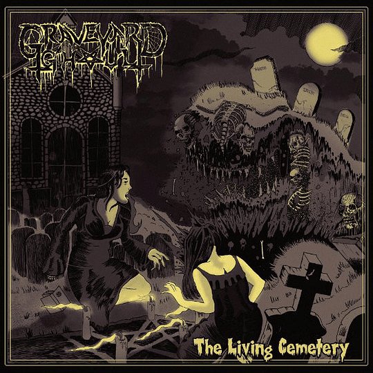 GRAVEYARD GHOUL - The Living Cemetery CD