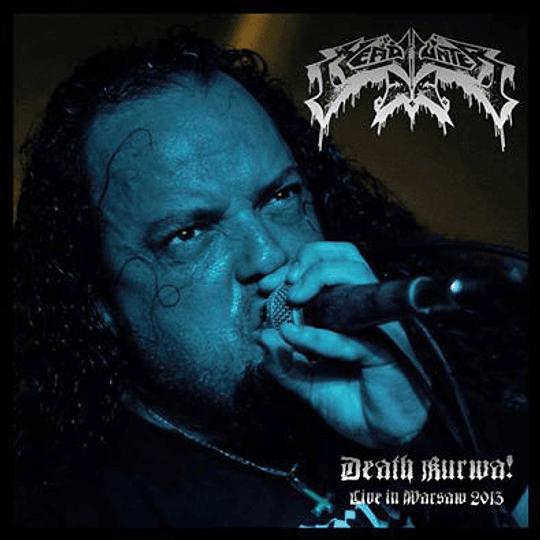 HEADHUNTER D.C. - Death Kurwa! - Live in Warsaw 2013 CD