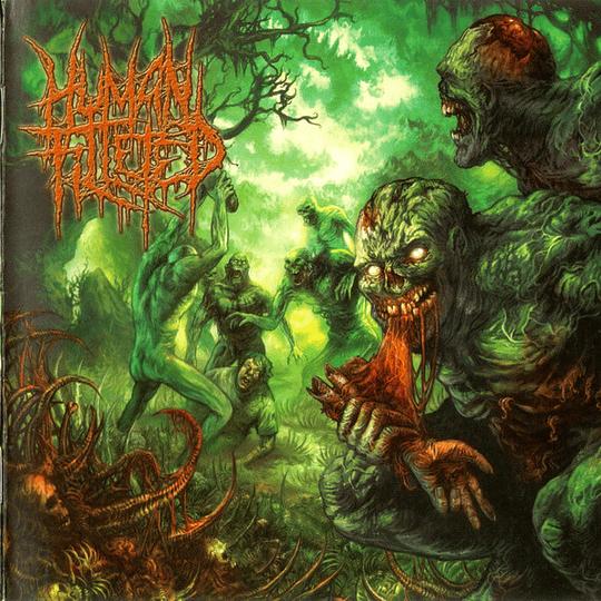HUMAN FILLETED - Blunt Force Embludgeonment CD
