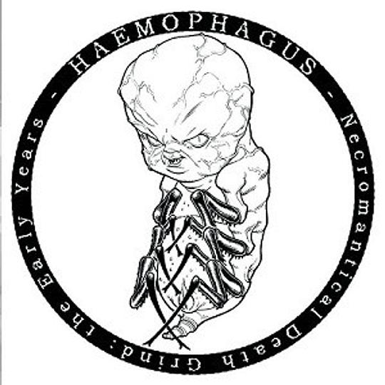 HAEMOPHAGUS - Necromantical Death Grind : The Early Years CD