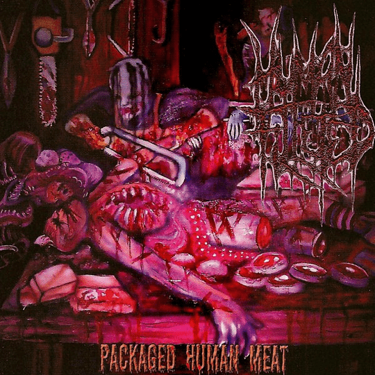 HUMAN FILLETED - Packaged Human Meat CD