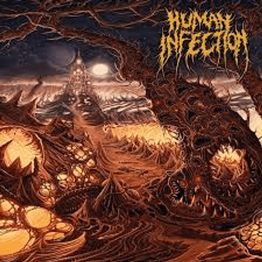 HUMAN INFECTION -  Curvatures In Time CD