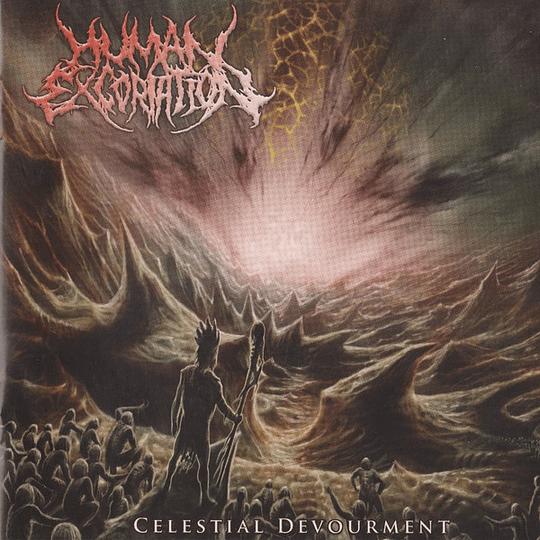 HUMAN EXCORIATION - Celestial Devourment CD