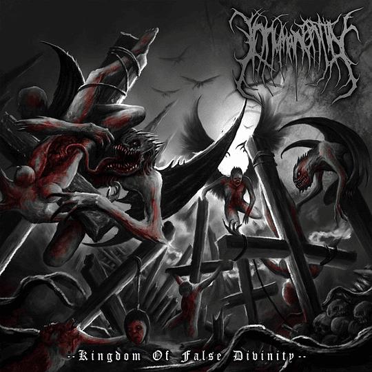 INHUMAN ENTITY - Kingdom Of False Divinity CD