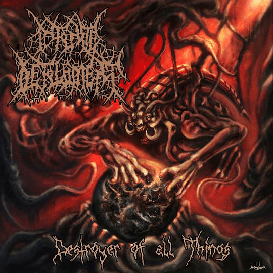 INFINITE DEFILEMENT - Destroyer Of All Things CD