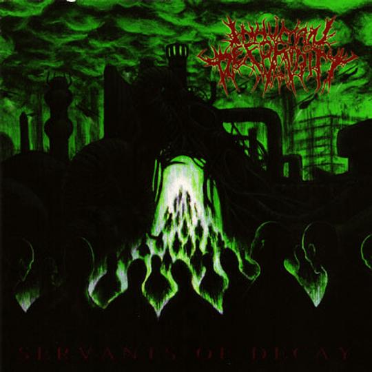 INHUMAN DEFORMITY - Servants Of Decay CD