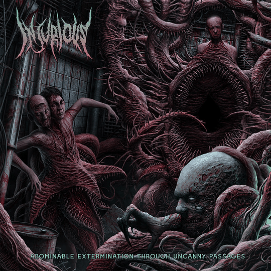 INJURIOUS - Abominable Extermination Through Uncanny Passages CD
