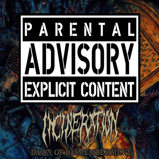 INCINERATION - Dawn Of Dismemberment CD