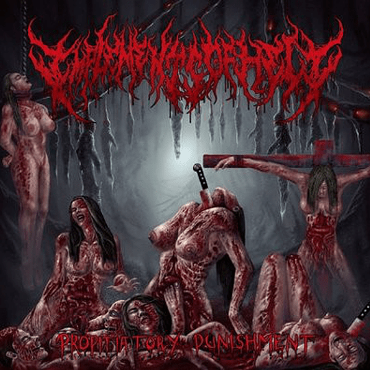IMPLEMENTS OF HELL - Propitiatory Punishment  CD